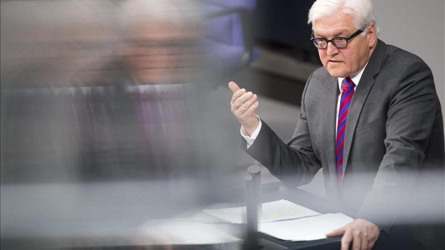 El ministro alemán de Exteriores evita la euforia tras el acuerdo de Minsk