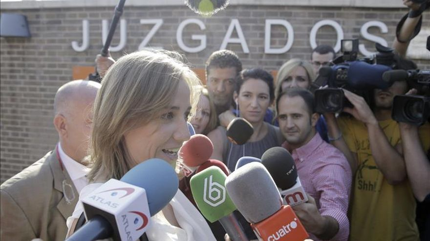 Tania Sánchez declara no saber que estaba aprobando un expediente favorable a Aúpa
