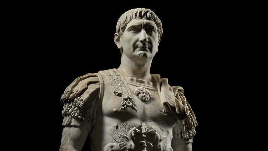 Busto de Trajano, emperador de Roma