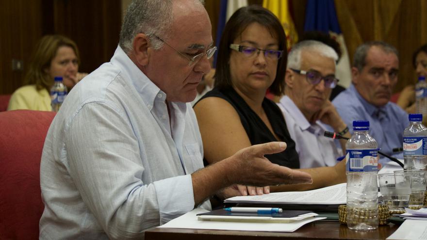 Carlos Cabrera es portavoz adjunto del PP en el Cabildo.