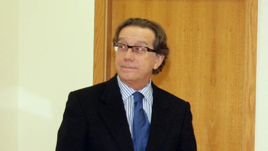 José Luis Méndez, exdirector general de Caixa Galicia, en una imagen de archivo