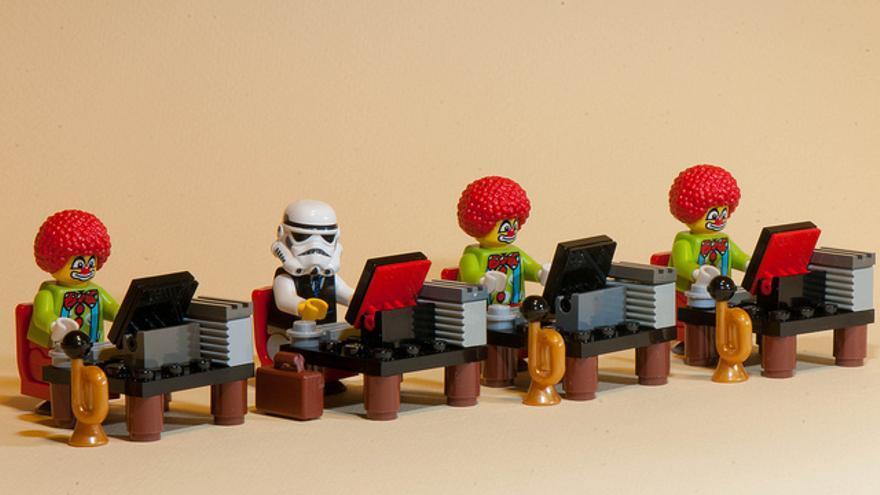 Generic Office Roleplay: una oficina virtual puede ser más divertida (Foto: Kenny Louie   Flickr)