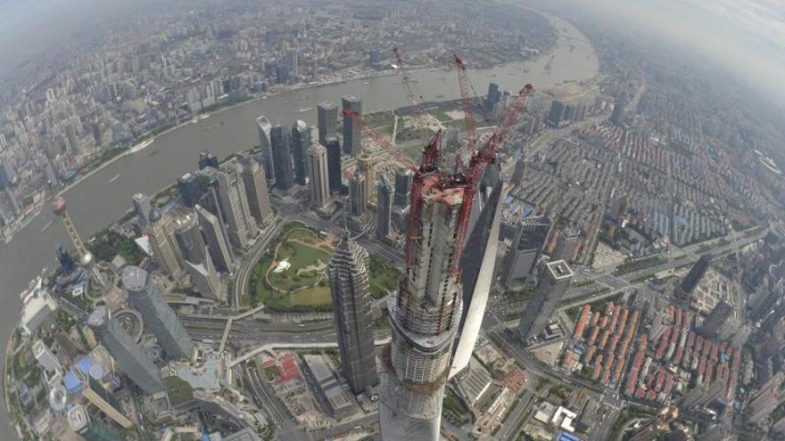 Las obras del segundo mayor rascacielos del mundo superan ya los 600 metros