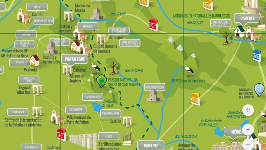 Euroace Eurorregion Extremadura turismo