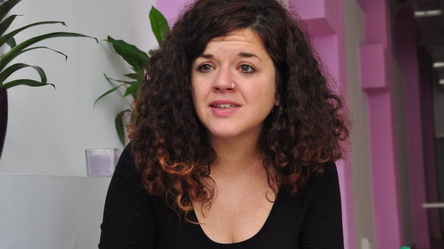 La diputada de Podemos y secretaria de Igualdad, Feminismos y LGTBI, Sofía Castañón