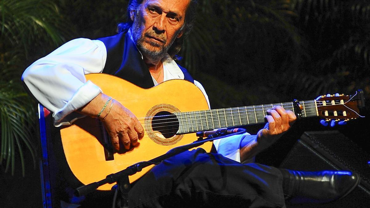 El guitarrista español Paco de Lucía