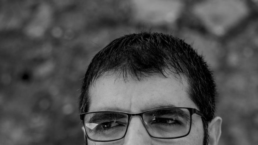 El periodista Roberto Valencia, autor de 'Carta desde Zacatraz' / Fred Ramos (El Faro)