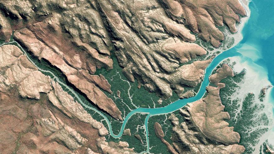 Las imágenes más sobrecogedoras de Google Earth