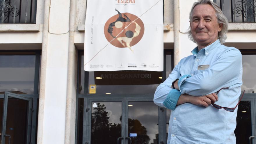 El director del festival Sagunt a Escena, Juan Vicente Martínez Luciano
