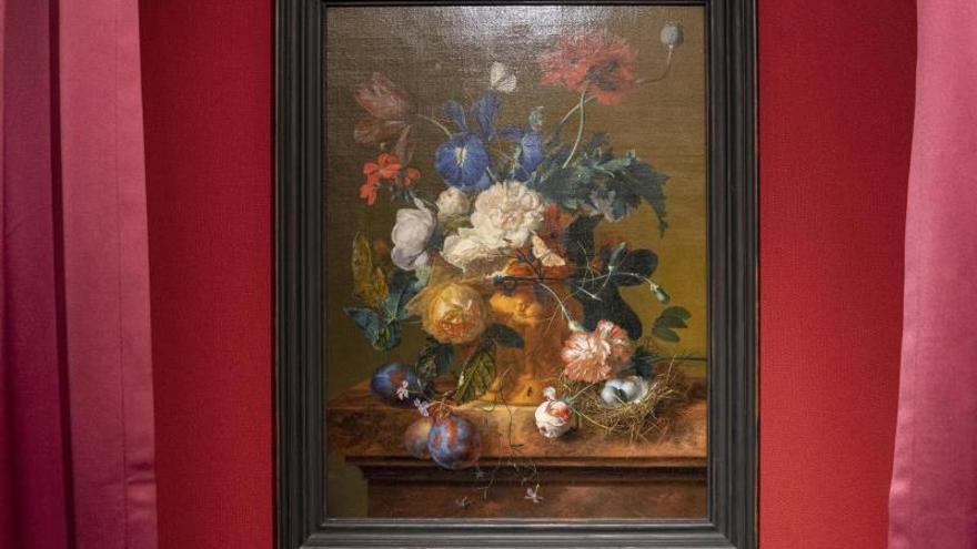 """La obra """"El jarrón de flores"""" robada por los nazis vuelve a Florencia"""