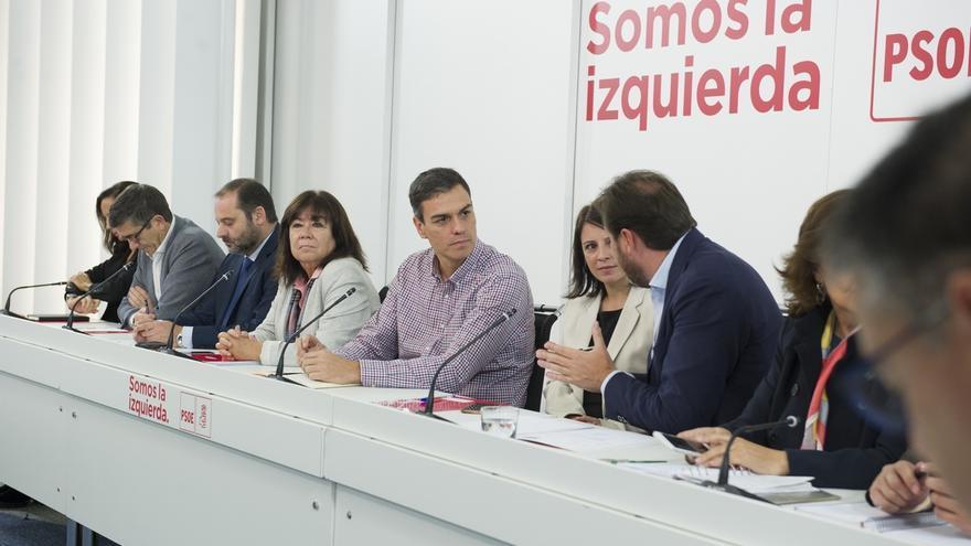 El PSOE aspira a escenificar mañana en el Comité Federal un cierre de filas en torno al liderazgo de Sánchez