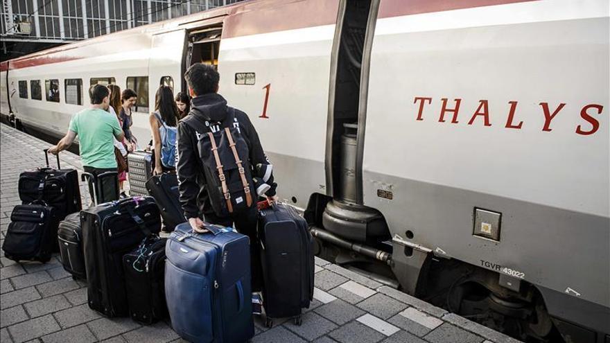 El Gobierno galo decide instalar arcos de control en acceso a los trenes Thalys