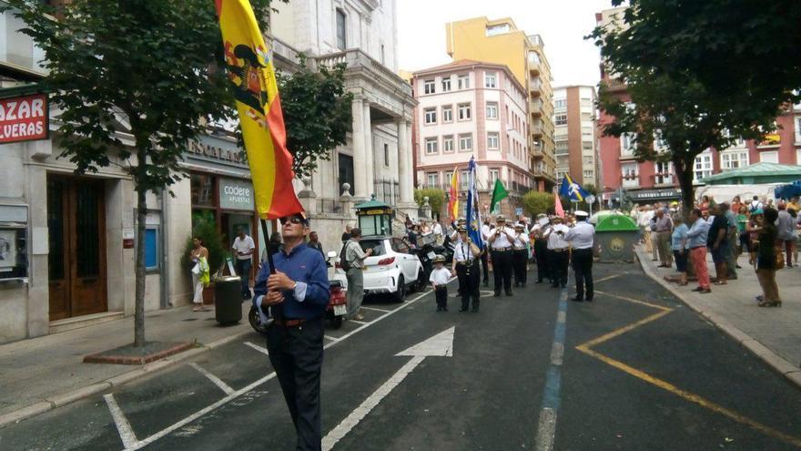 Pasacalles franquista en Santander.   EL ROBLEDAL DE TODOS