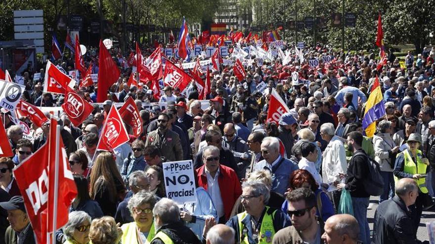 Los sindicatos salen mañana a la calle por mejores empleos, pensiones e igualdad