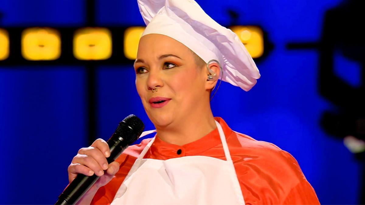 'La Pastelera', la cantante farsante que llegó a la final de 'Veo cómo cantas'