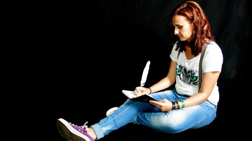La escritora Sandra Lorenzo ha sido premiada en varias ocasiones en Tazacorte.