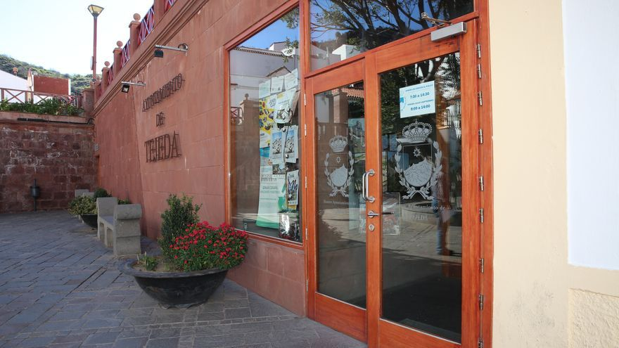Ayuntamiento de Tejeda. (Alejandro Ramos)