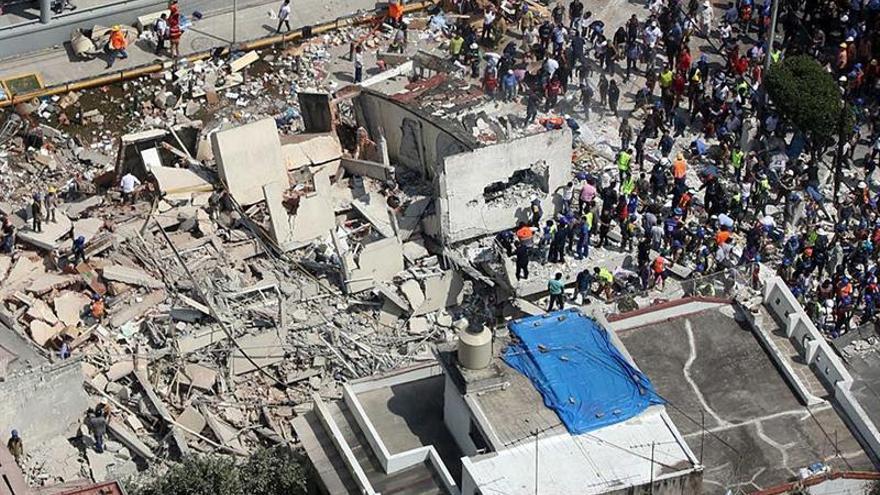 Un español fallecido en el terremoto de México