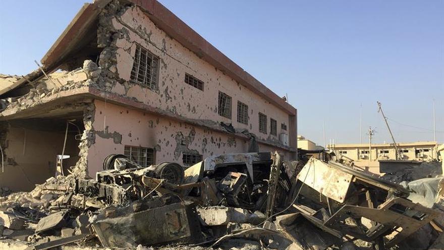 Las tropas iraquíes liberan dos importantes poblaciones al sur de Mosul
