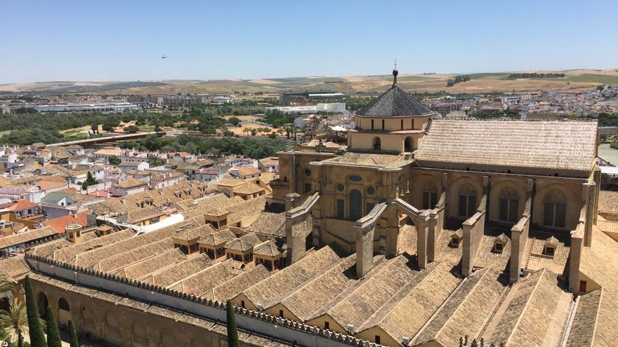 Vista aérea de la Mezquita-Catedral de Córdoba