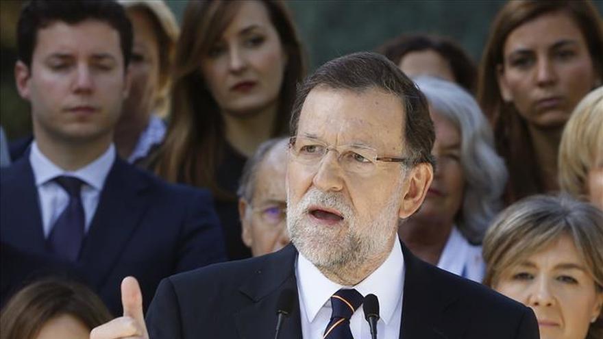 """Rajoy pide tranquilidad aunque admite que """"nadie está a salvo"""" de atentados"""