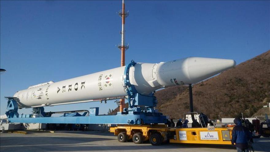 Corea del Sur ultima los preparativos para tercer intento de lanzar su cohete