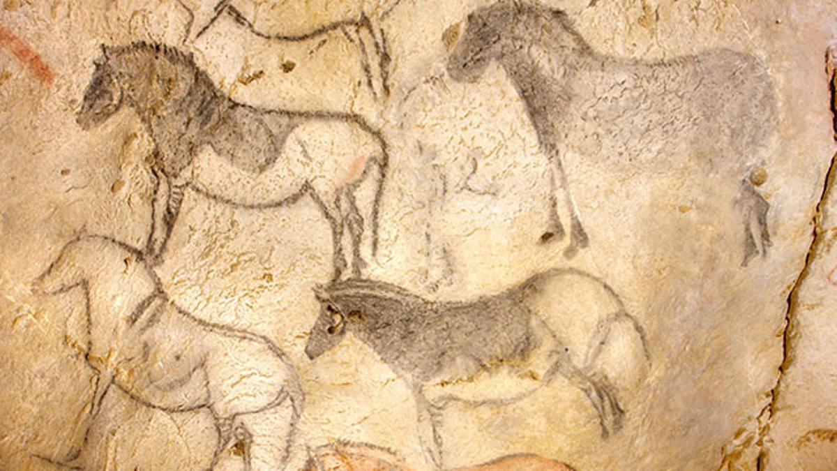 Los caballos de la Cueva de Ekain