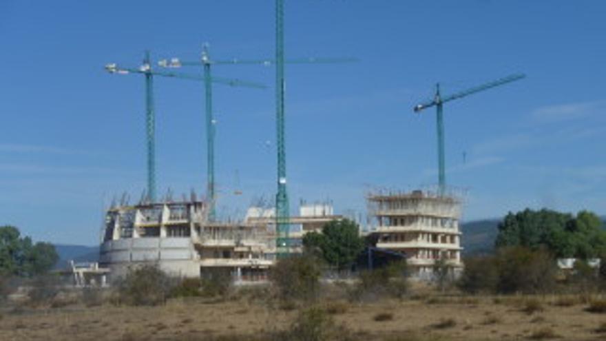 Las obras de la Cúpula de la Energía, paradas por la Junta de Castilla y León y por los tribunales. Asden