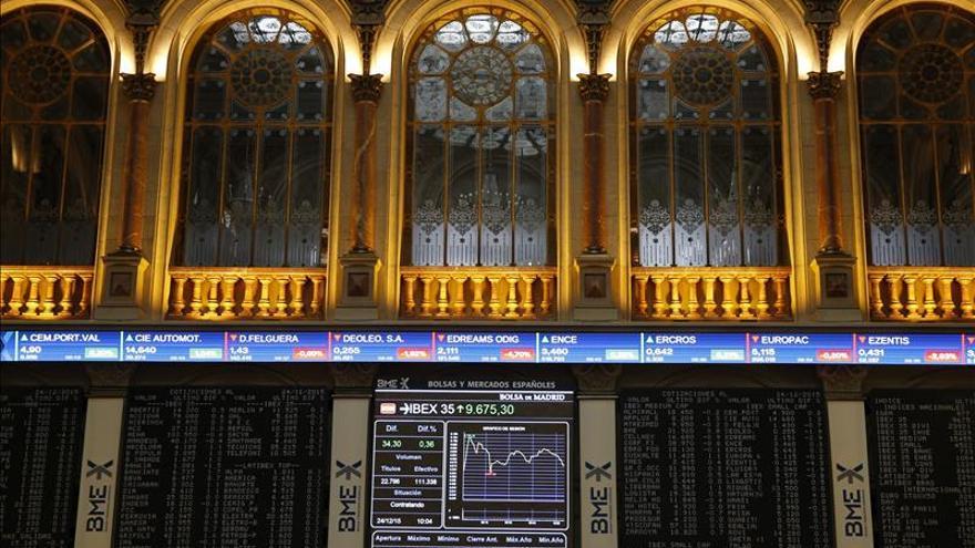 La bolsa española baja el 0,01 por ciento poco después de la apertura