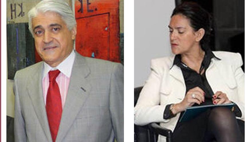 Fernando Belhot y Beatriz García Paesa.