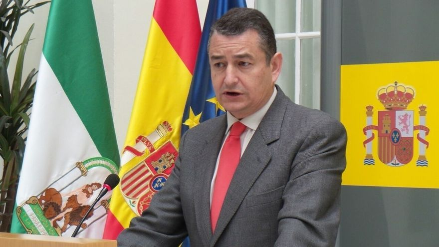 """Sanz dice que Andalucía trasladará """"todos los medios"""" que solicite Interior """"ante la importancia del momento"""""""