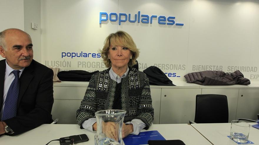 """Aguirre, sobre los candidatos del PP: """"Rajoy dice que los ha nombrado siempre en marzo, pues será en marzo"""""""