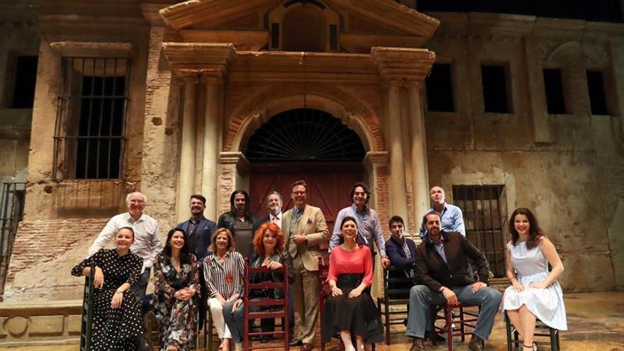 Presentación de la ópera 'Carmen' en Las Palmas de Gran Canaria