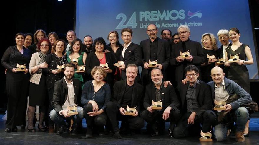 La Unión de Actores celebra hoy el 25 aniversario de sus premios