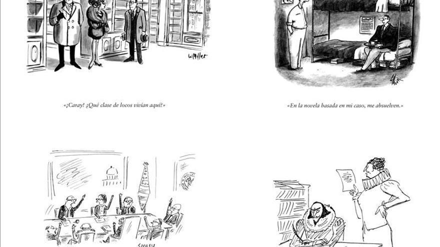 Un volumen recoge las viñetas de The New Yorker sobre el mundo del libro