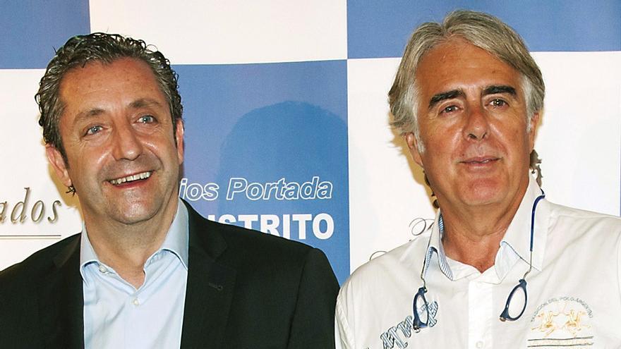 Josep Pedrerol y Siro López en una imagen de 2012