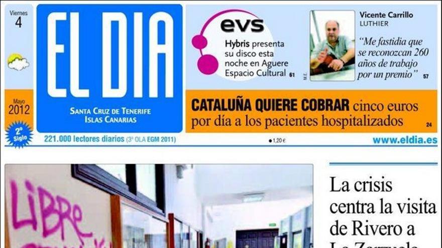De las portadas del día (04/05/2012) #3