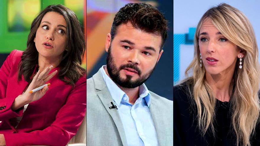 Los partidos ningunean el debate electoral en TVE Catalunya y lo dejan en manos de candidatos de segunda