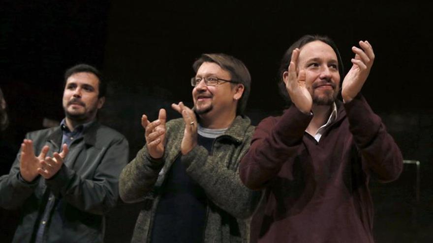 Errejón reclama la autonomía de Podemos mientras Iglesias comparece con Garzón