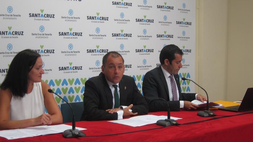 Zaida González, José Manuel Bermúdez y Juan José Martínez, este lunes