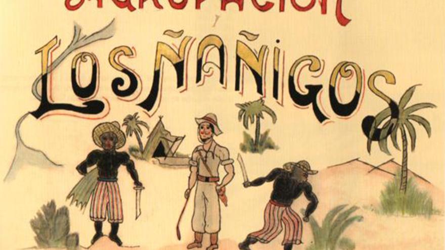 Chirigota de Los Ñáñigos, 'Historia gráfica del carnaval de Cádiz. Años 1950-1959'.