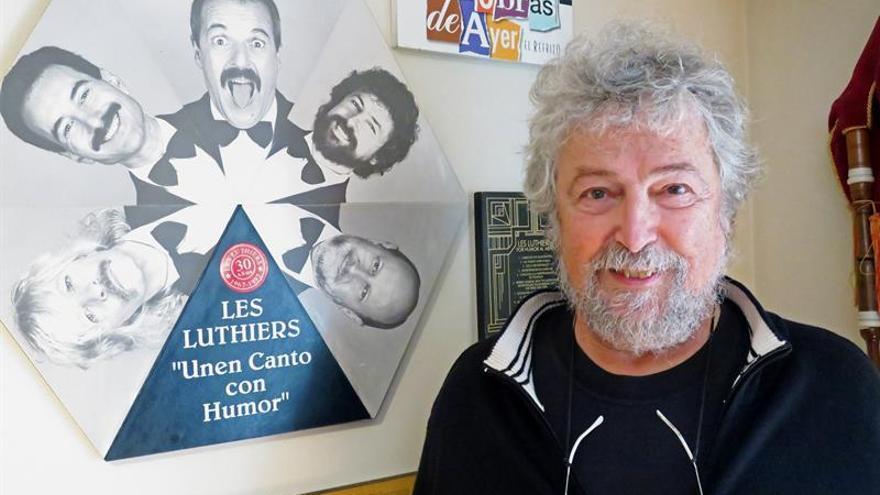 """Carlos Núñez abandona Les Luthiers por sus """"deseos"""" de """"un merecido descanso"""""""