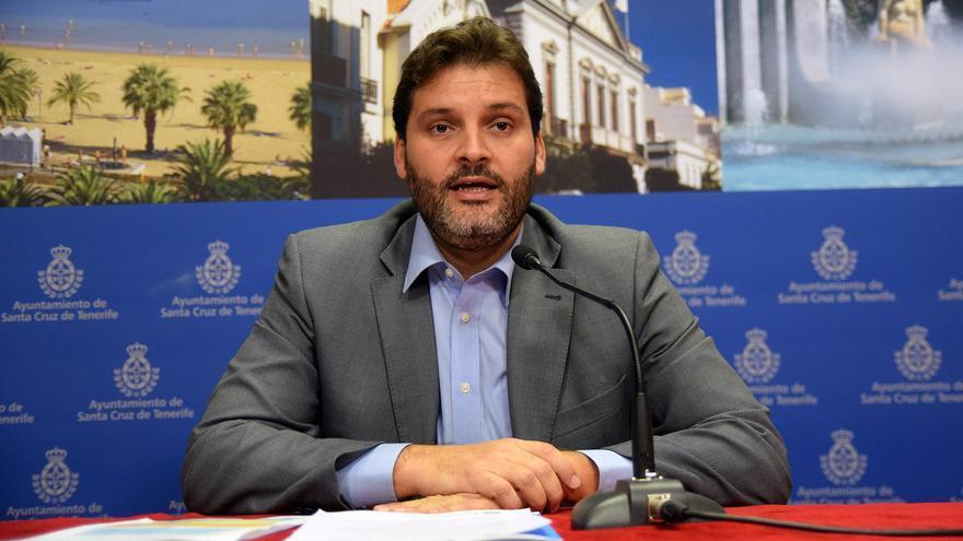 El titular de Urbanismo del Ayuntamiento de Santa Cruz de Tenerife, José Angel Martín.