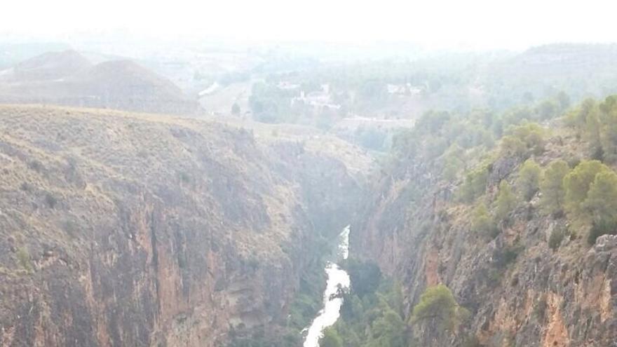 Cañón de Almadenes, en el tramo del río Segura entre Calasparra y Cieza / 112-RM