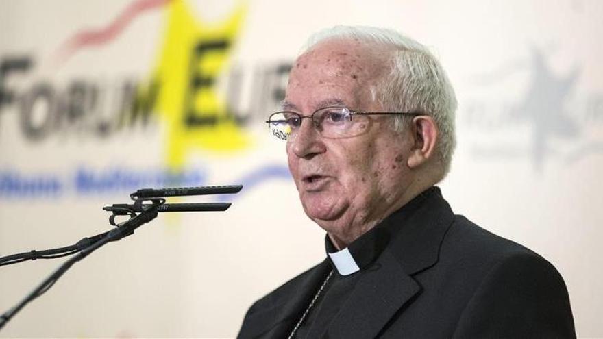 El cardenal Cañizares pide defender la familia y la vida ante las elecciones