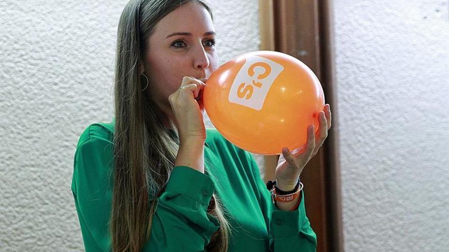 La candidata de Ciudadanos, Melisa Rodríguez. (EFE/Cristóbal García).