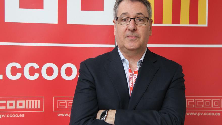 Arturo León, elegido esta misma semana nuevo secretario general de CCOO PV
