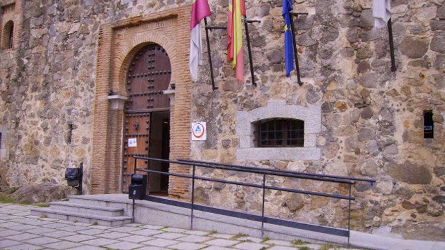 Entrada al Castillo de San Servando, en Toledo