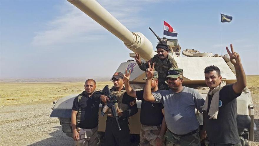 Las fuerzas iraquíes se preparan para irrumpir en la comarca de Al Hamdaniya