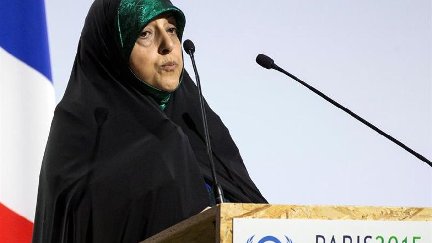 """La vicepresidenta iraní dice a EEUU que """"Irán es ahora un actor responsable"""""""